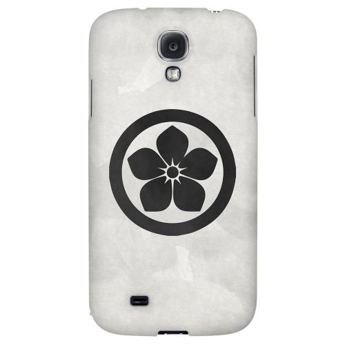 Kikyo Kamon on Paper v.2 - Geeks Designer Line Tattoo Series Hard Back Case for Samsung Galaxy S4