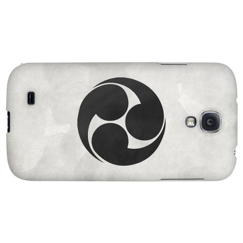 Tomoe Kamon on Paper v.1 - Geeks Designer Line Tattoo Series Hard Back Case for Samsung Galaxy S4