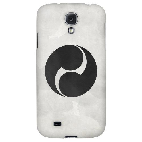 Tomoe Kamon on Paper v.2 - Geeks Designer Line Tattoo Series Hard Back Case for Samsung Galaxy S4
