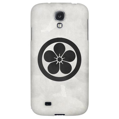 Umebachi Kamon on Paper v.3 - Geeks Designer Line Tattoo Series Hard Back Case for Samsung Galaxy S4