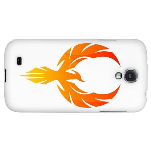 Phoenix Flame - Geeks Designer Line Tattoo Series Hard Back Case for Samsung Galaxy S4