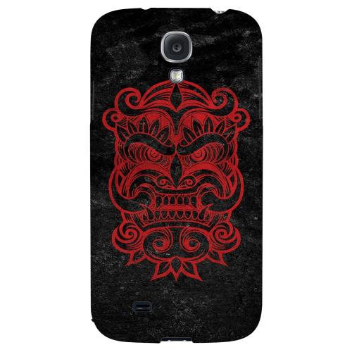 Red Devil Mask - Geeks Designer Line Tattoo Series Hard Back Case for Samsung Galaxy S4