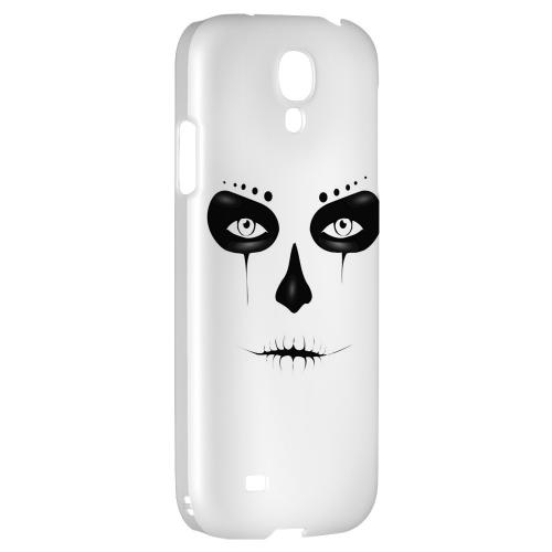 Skull Face - Geeks Designer Line Tattoo Series Hard Back Case for Samsung Galaxy S4
