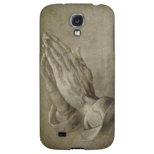 Albrecht Durer Praying Hands - Geeks Designer Line Artist Series Hard Back Case for Samsung Galaxy S4