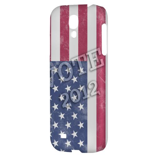 Vote America - Geeks Designer Line Election 2012 Series Hard Back Case for Samsung Galaxy S4
