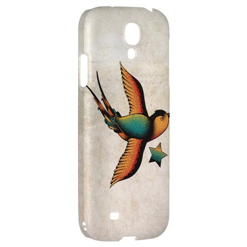 Swallow Star - Geeks Designer Line Tattoo Series Hard Back Case for Samsung Galaxy S4