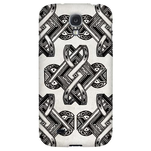 Tribal Art - Geeks Designer Line Tattoo Series Hard Back Case for Samsung Galaxy S4