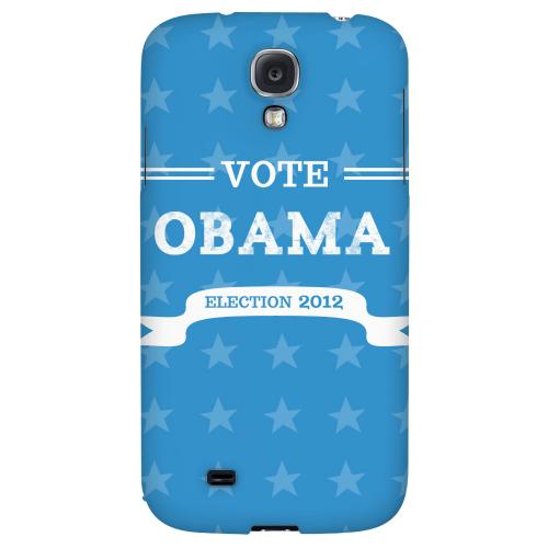 Vote Obama 2012 - Geeks Designer Line Election 2012 Series Hard Back Case for Samsung Galaxy S4
