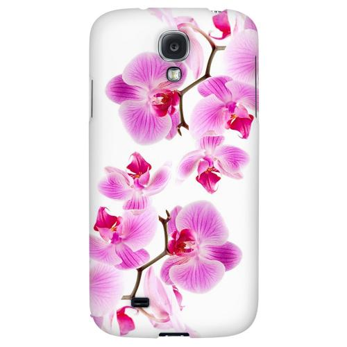 Orchids - Geeks Designer Line Floral Series Hard Back Case for Samsung Galaxy S4