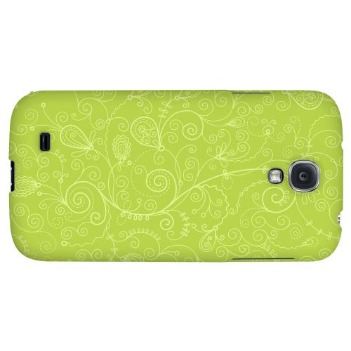 Floral 1 Tender Shoots - Geeks Designer Line Pantone Color Series Hard Back Case for Samsung Galaxy S4