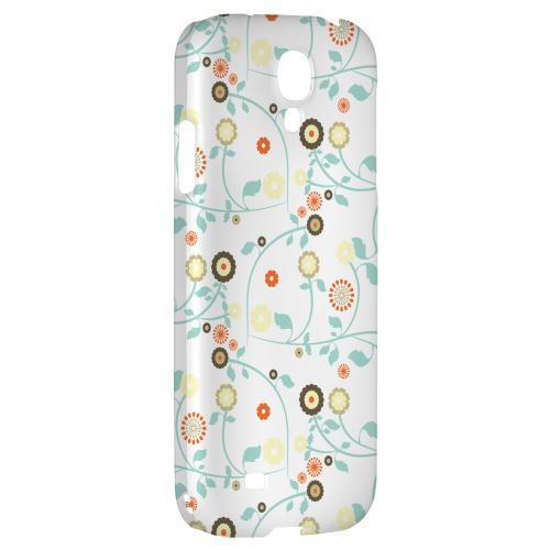 Floral 2 Multi-colored - Geeks Designer Line Pantone Color Series Hard Back Case for Samsung Galaxy S4