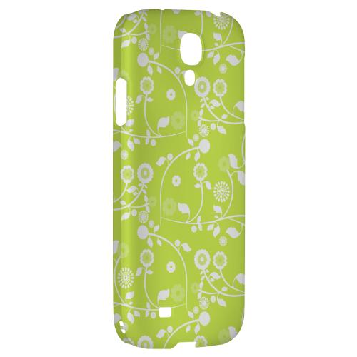 Floral 2 Tender Shoots - Geeks Designer Line Pantone Color Series Hard Back Case for Samsung Galaxy S4