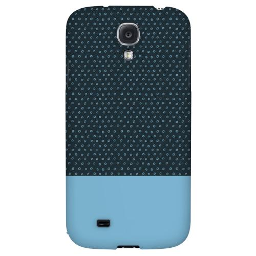 Little Circle Dots Dusk Blue - Geeks Designer Line Pantone Color Series Hard Back Case for Samsung Galaxy S4
