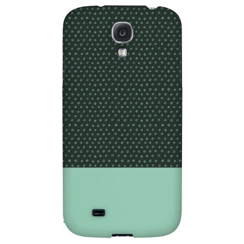Little Circle Dots Grayed Jade - Geeks Designer Line Pantone Color Series Hard Back Case for Samsung Galaxy S4