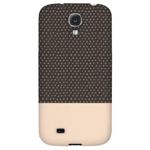 Little Circle Dots Linen - Geeks Designer Line Pantone Color Series Hard Back Case for Samsung Galaxy S4