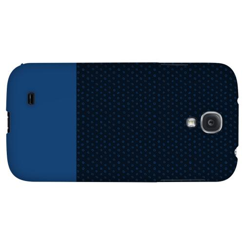 Little Circle Dots Monaco Blue - Geeks Designer Line Pantone Color Series Hard Back Case for Samsung Galaxy S4