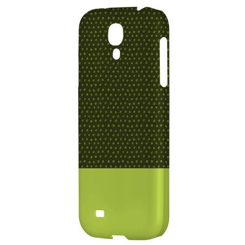 Little Circle Dots Tender Shoots - Geeks Designer Line Pantone Color Series Hard Back Case for Samsung Galaxy S4