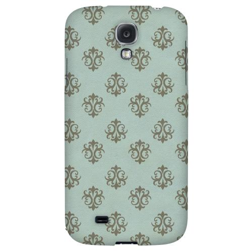 Ornamental Dusk Blue - Geeks Designer Line Pantone Color Series Hard Back Case for Samsung Galaxy S4