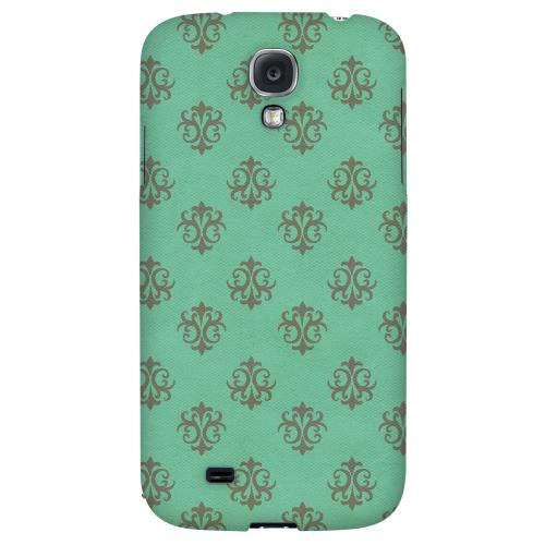 Ornamental Emerald - Geeks Designer Line Pantone Color Series Hard Back Case for Samsung Galaxy S4