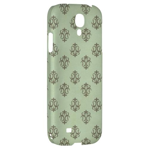 Ornamental Grayed Jade - Geeks Designer Line Pantone Color Series Hard Back Case for Samsung Galaxy S4