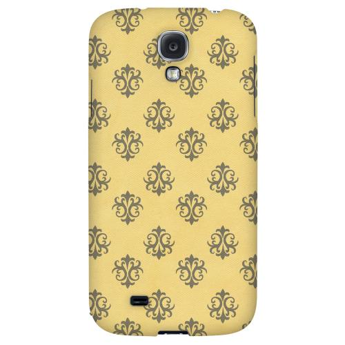 Ornamental Lemon Zest - Geeks Designer Line Pantone Color Series Hard Back Case for Samsung Galaxy S4