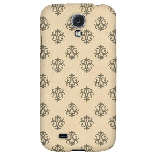 Ornamental Linen - Geeks Designer Line Pantone Color Series Hard Back Case for Samsung Galaxy S4
