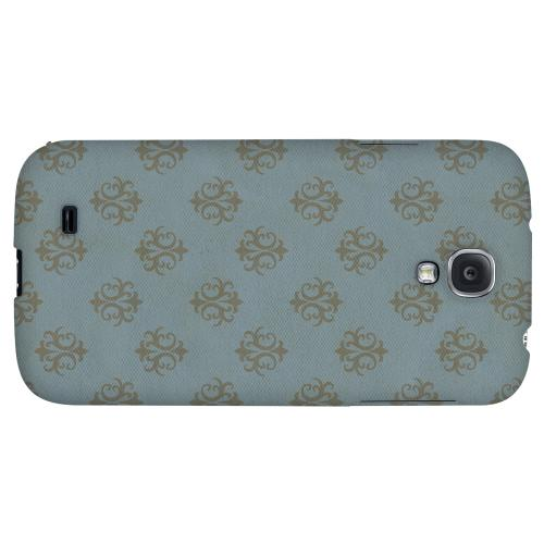 Ornamental Monaco Blue - Geeks Designer Line Pantone Color Series Hard Back Case for Samsung Galaxy S4