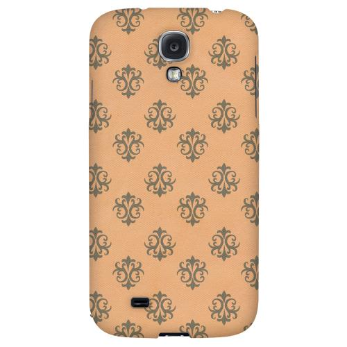 Ornamental Nectarine - Geeks Designer Line Pantone Color Series Hard Back Case for Samsung Galaxy S4