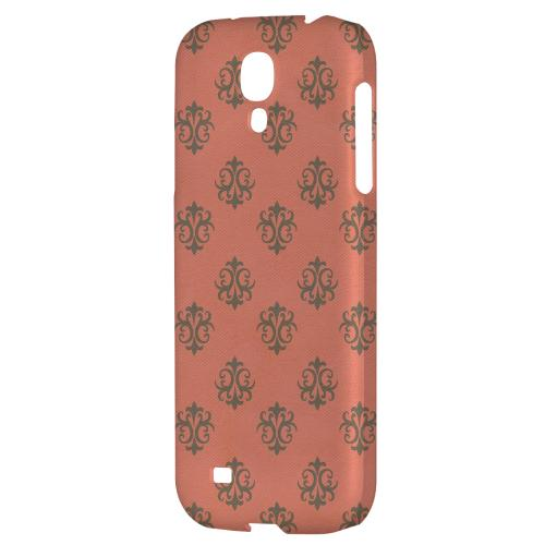 Ornamental Poppy Red - Geeks Designer Line Pantone Color Series Hard Back Case for Samsung Galaxy S4