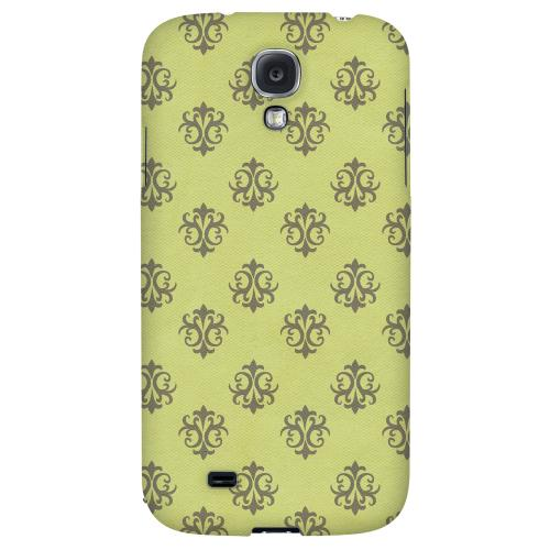 Ornamental Tender Shoots - Geeks Designer Line Pantone Color Series Hard Back Case for Samsung Galaxy S4