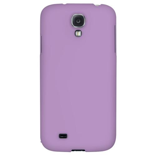 S13 Pantone African Violet - Geeks Designer Line Pantone Color Series Hard Back Case for Samsung Galaxy S4