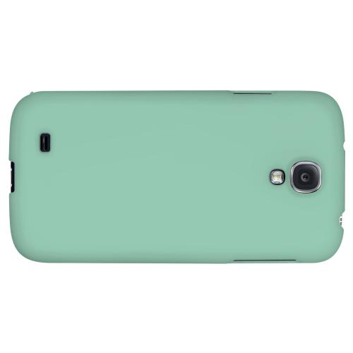 S13 Pantone Grayed Jade - Geeks Designer Line Pantone Color Series Hard Back Case for Samsung Galaxy S4
