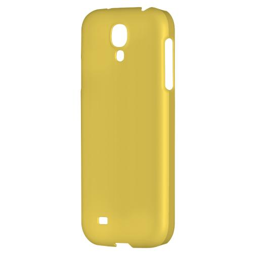 S13 Pantone Lemon Zest - Geeks Designer Line Pantone Color Series Hard Back Case for Samsung Galaxy S4