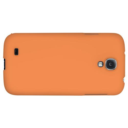 S13 Pantone Nectarine - Geeks Designer Line Pantone Color Series Hard Back Case for Samsung Galaxy S4