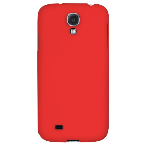 S13 Pantone Poppy Red - Geeks Designer Line Pantone Color Series Hard Back Case for Samsung Galaxy S4