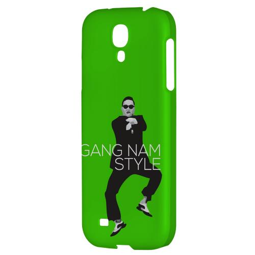Green Gangnam Style - Geeks Designer Line Hard Back Case for Samsung Galaxy S4