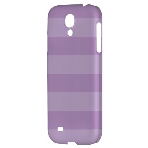Stripes African Violet - Geeks Designer Line Pantone Color Series Hard Back Case for Samsung Galaxy S4