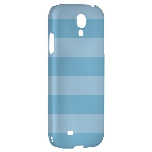 Stripes Dusk Blue - Geeks Designer Line Pantone Color Series Hard Back Case for Samsung Galaxy S4