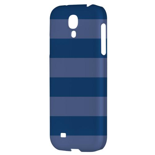 Stripes Monaco Blue - Geeks Designer Line Pantone Color Series Hard Back Case for Samsung Galaxy S4