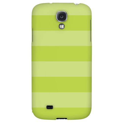 Stripes Tender Shoots - Geeks Designer Line Pantone Color Series Hard Back Case for Samsung Galaxy S4