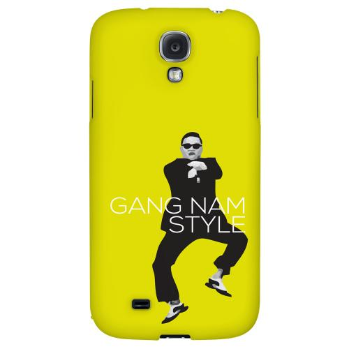 Yellow Gangnam Style - Geeks Designer Line Hard Back Case for Samsung Galaxy S4