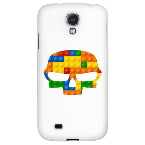 Blocks Fatskull - Geeks Designer Line Skull Series Hard Back Case for Samsung Galaxy S4