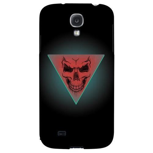 Dead Triangle - Geeks Designer Line Skull Series Hard Back Case for Samsung Galaxy S4