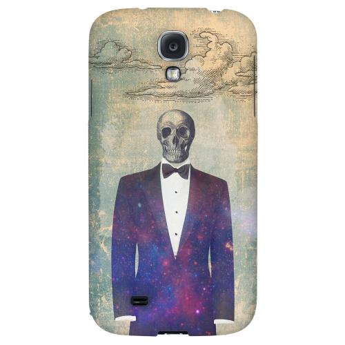 Deathbonair - Geeks Designer Line Skull Series Hard Back Case for Samsung Galaxy S4