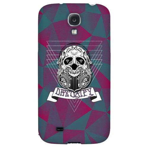 Detoxify - Geeks Designer Line Skull Series Hard Back Case for Samsung Galaxy S4