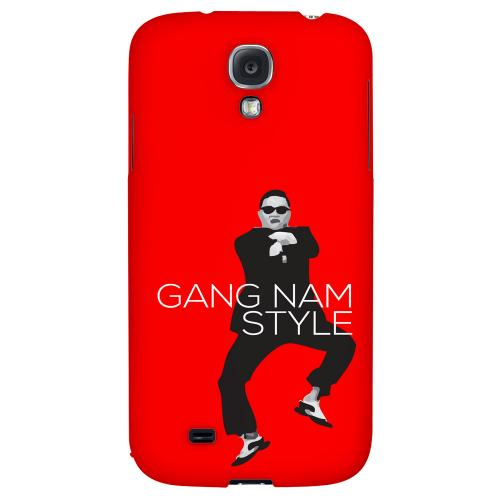 Red Gangnam Style - Geeks Designer Line Hard Back Case for Samsung Galaxy S4