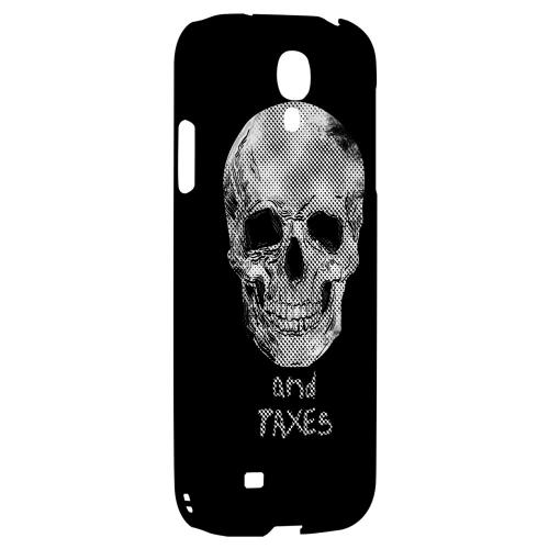 Guarantees in Life - Geeks Designer Line Skull Series Hard Back Case for Samsung Galaxy S4