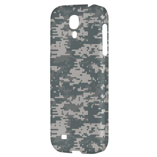 Gray Digital Camouflage - Geeks Designer Line Hard Back Case for Samsung Galaxy S4