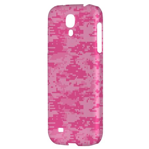 Pink Digital Camouflage - Geeks Designer Line Hard Back Case for Samsung Galaxy S4