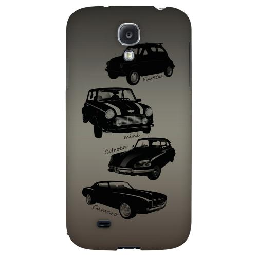 Classic Cars Fiat, Mini, Citroen, & Camaro - Geeks Designer Line Auto Series Hard Back Case for Samsung Galaxy S4